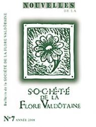 Nouvelles de la Société de la flore valdôtaine