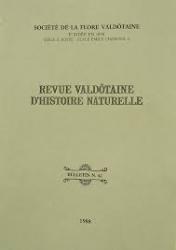 Revue valdôtaine d'histoire naturelle