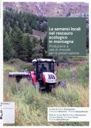 Le sementi locali nel restauro ecologico in montagna