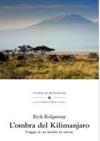 L'ombra del Kilimanjaro