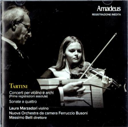Concerti per violino e archi [DOCUMENTO SONORO]