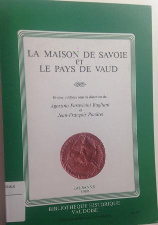 Le maison de Savoie et le Pays de Vaud