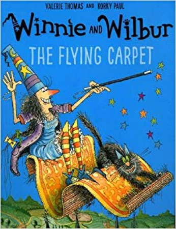 Winnie and Wilbur. The flying carpet
