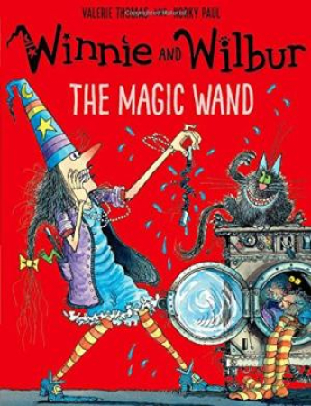 Winnie and Wilbur. The magic wand