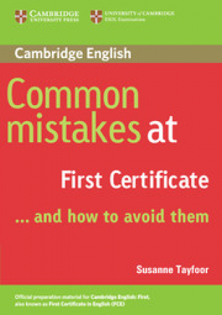 Common mistakes at First Certificate