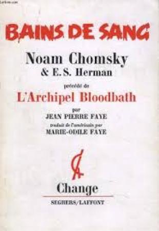 Bains de sang constructifs dans les faits et la propagande
