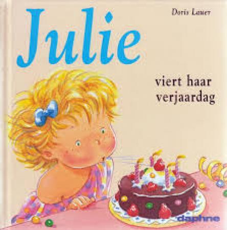 Julie viert haar verjaardag