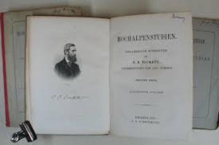 Hochalpenstudien : gesammelte Schriften / von F. F. Tuckett ; uebersetzung von Aug. Cordes. 2