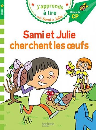 Sami et Julie cherchent les oeufs