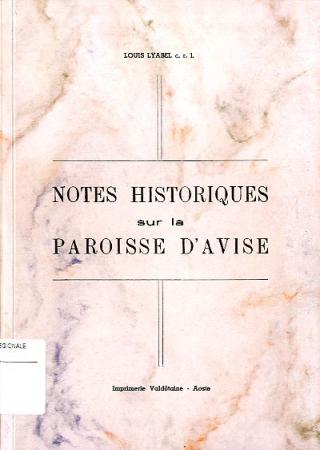 Notes historiques sur la paroisse d'Avise