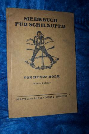 Das Merkbuch für Schiläufer