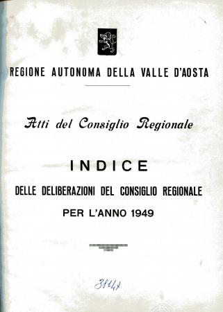 Atti del Consiglio regionale