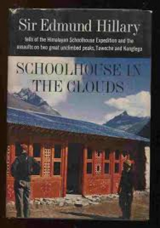Schoolhouse in the clouds