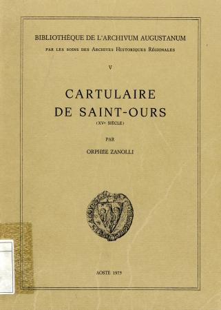 Cartulaire de Saint-Ours (XVe siècle)