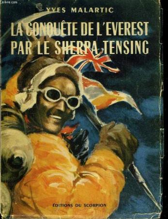 La conquête de l'Everest par le sherpa Tensing