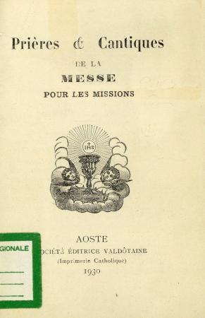 Prières & cantiques de la Messe pour les missions