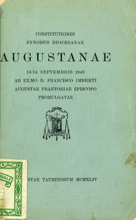 Constitutiones Synodus diocesanae Augustanae
