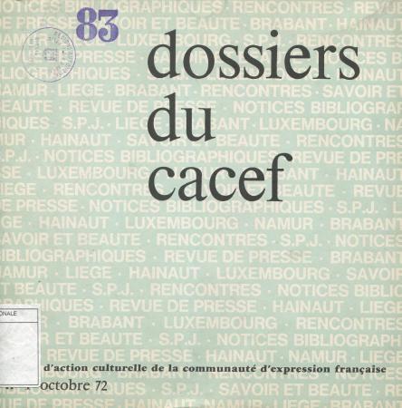 Dossiers du Cacef