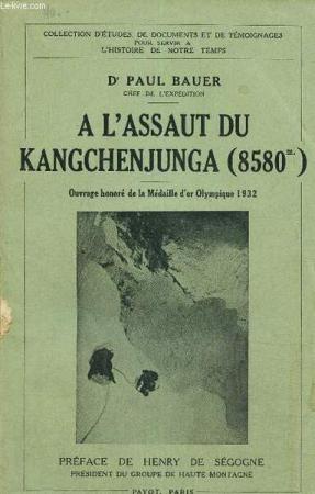 A l'assaut du Kangchenjunga (8580 m)