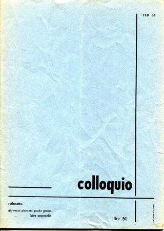 Colloquio