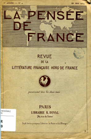 La pensée de France