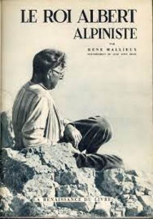 Le roi Albert alpiniste