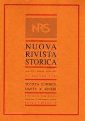 Nuova rivista storica