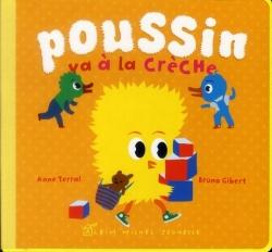 Poussin va à la crèche